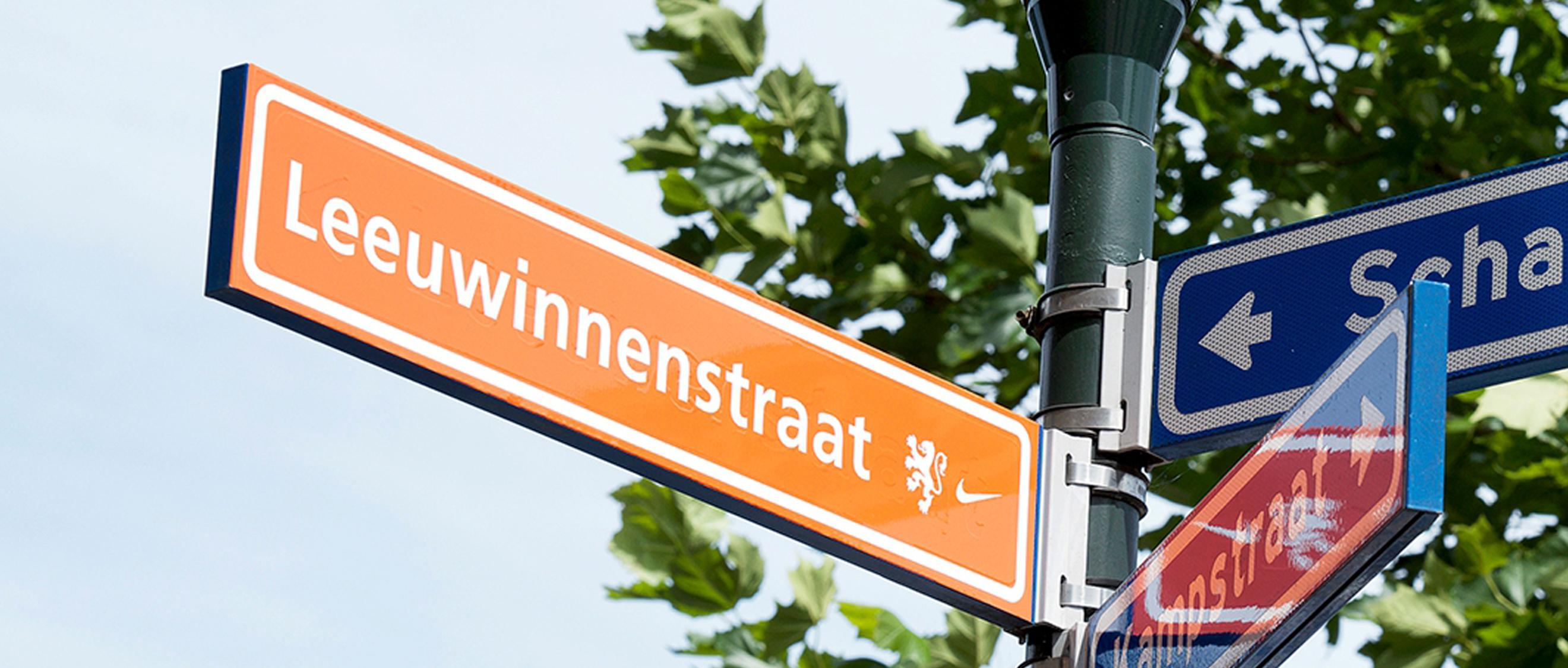 From Leeuwenstraat to Leeuwinnenstraat