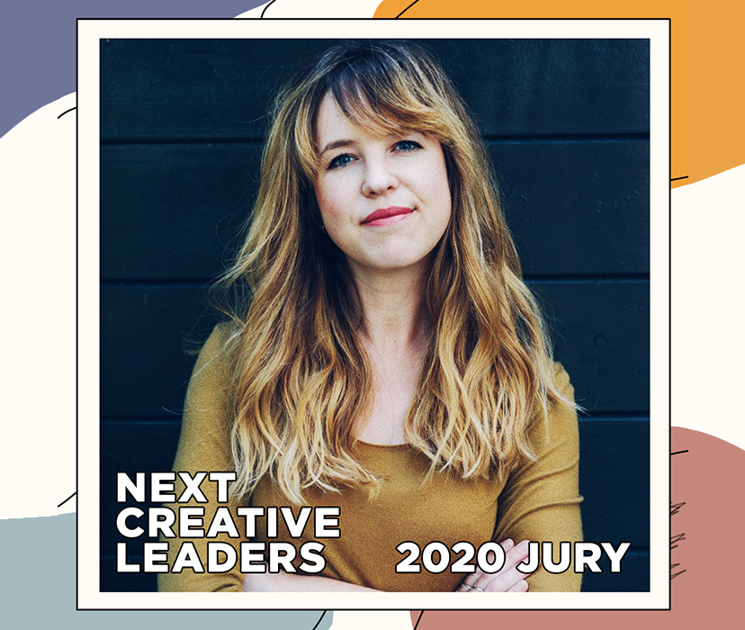 Our Creative Director Hannah Smit is selected as a judge for Next Creative Leaders 2020